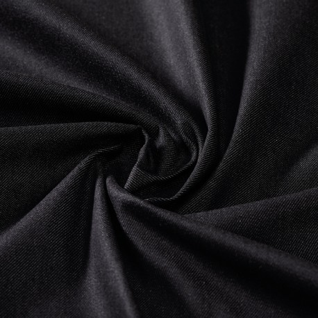 Lightweight black organic denim 100% organic cotton
