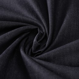 Heavy weight dark blue raw denim 100% GOTS certified cotton - Sample