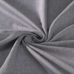 Blue oxford organic cotton shirting fabric - Sample