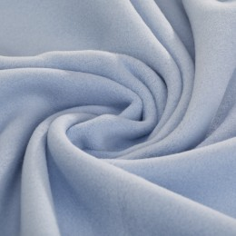 Blue organic cotton fleece