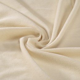 Nicky velvet 100 % organic cotton natural color - Sample