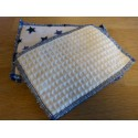 Washable wipes for the toilet 12 x 15 cm - 100% organic cotton