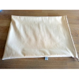 No waste fabric bag for round bread 100% organic cotton