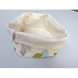 Basket for wipes 14 x 14 cm