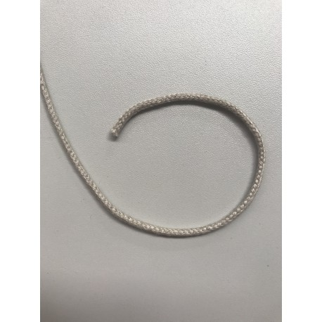 Natural linen cord 3 mm diameter