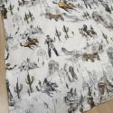 Easy use Western organic cotton duvet cover