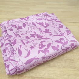Easy use Pink organic cotton duvet cover