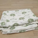 Easy use Trees organic cotton duvet cover