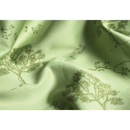 Green Tree organic cotton pillow case