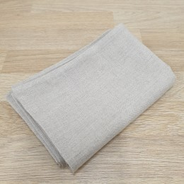 100% white organic linen pillow case