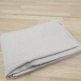 White linen fitted sheet - organic linen